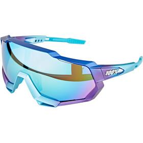 100% Speedtrap Okulary, niebieski